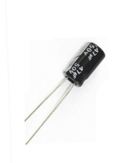 47uF 50V Electrolytic Capacitor