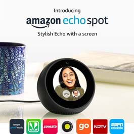 Amazon Echo Spot – Black