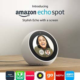 Amazon Echo Spot – White