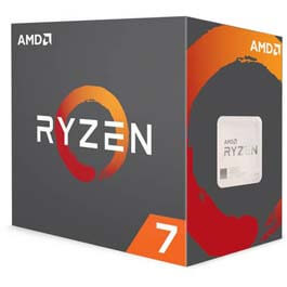 AMD Ryzen 7 1700X 3.4GHz Octa-Core AM4 Processor