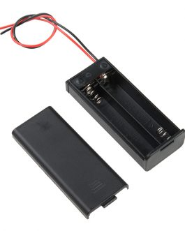 2 x 1.5V AAA battery holder with cover and On/Off Switch