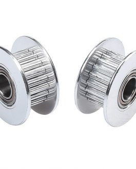 Aluminum GT2 Timing Idler Pulley For 6mm Belt 20 Tooth 5mm Bore – 2Pcs