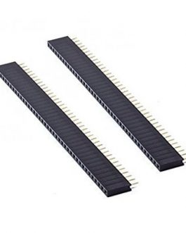 2mm Pitch Female Burg Strip 40×1-2Pcs.