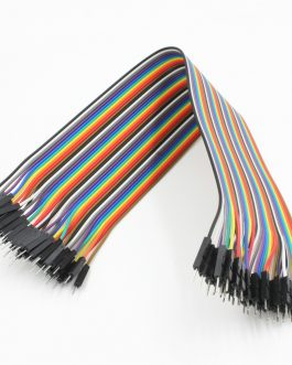 20CM Dupont Wire Color Jumper Cable, 2.54mm 1P-1P Male to Male 40PCS