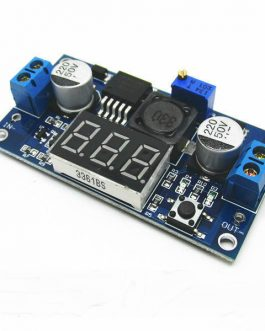 LM2596 2A Buck Step-down Power Converter Module DC 4.0~40 to 1.3-37V LED Voltmeter