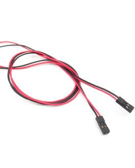 70CM 2 Pin Female to Female Dupont Cable For 3D Printer – 2Pcs