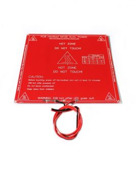RepRap MK2B 3D printers Dual Power PCB HeatBed With 14AWG Cable