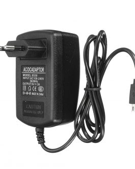 5V 3A Raspberry Pi AC 100-240V DC 15W EU Plug USB Power Supply Adapter Charger with Connecting Cable