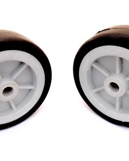 EasyMech Heavy Duty(HD) Disc Wheel 100mm Dia. (Gray) – 2Pc