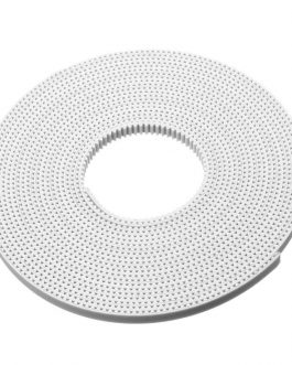 10M GT2 Width 6mm White Open Timing Belt For 3D Printer