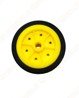 EasyMech 100MM MODIFIED Heavy Duty(HD) DISC Wheel Yellow – 1Pcs