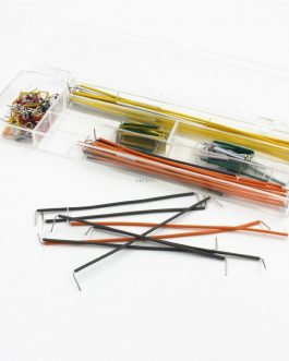 140 pcs U Shape Solderless Breadboard Jumper Cable Wire Kit