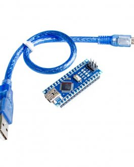 Nano Board R3 CH340 chip With USB Mini Cable compatible with Arduino (soldered)