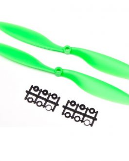 Orange HD Propellers 1038(10X3.8) ABS Green 1CW+1CCW-1pair