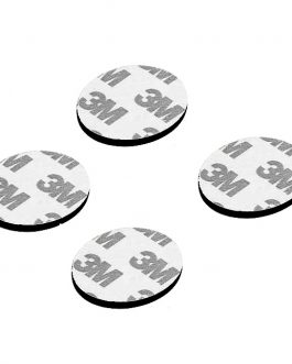 3M Multipurpose Double Sided Sponge Glue Adhesive Dash pad for GPS-4Pcs.