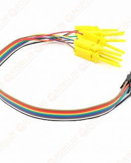 8CH Quality Test Hook Clip Logic Analyzer Test Folder for USB Saleae 24M