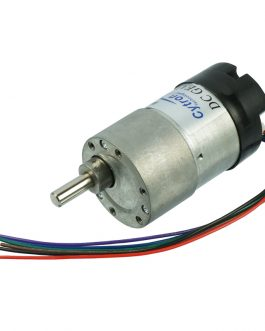 SPG30E-200K DC Geared Motor with Encoder 17RPM 80N.cm 12V