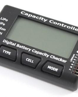 2.1″ RC CellMeter 7 Digital Battery Capacity Checker for NiCd / NiMH / LiPo / LiFe / Li-ion