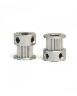 Aluminum GT2 Timing Pulley 20 Tooth 5mm Bore For 6mm Belt – 2Pcs