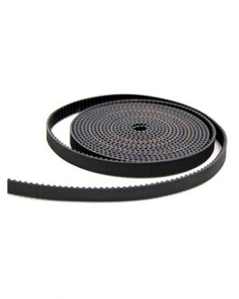 10M GT2 Width 6mm Black Open Timing Belt For 3D Printer