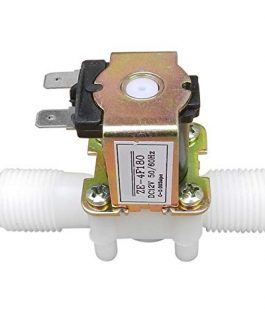 12V DC 1/2″ Electric Solenoid Water Air Valve Switch (Normally Closed)