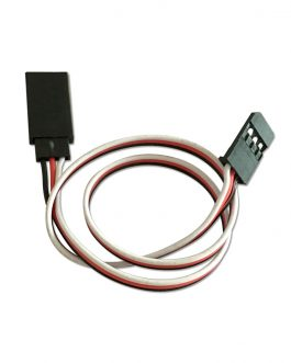 SafeConnect Flat 30CM 22AWG Servo Lead Extension (Futaba) Cable