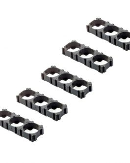 18650 3×1 Battery Cell Spacer/Holder-5Pcs.