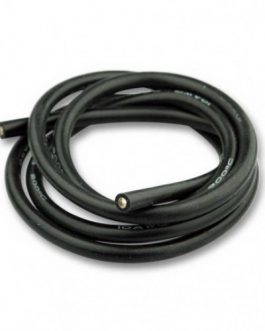 High Quality 10AWG Silicone Wire 1m (Black)